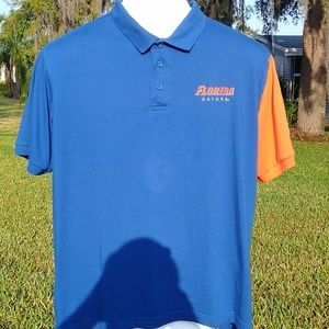 Champs Sports by Team Edition Apparel Shirts - Gator UF Mens Polo by Champs Sports Blue Orange LG